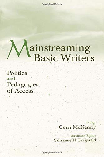 Mainstreaming Basic Writers