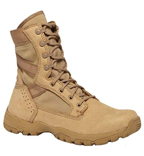 Belleville 313 Tactical Research Flyweight II Desert Tan Hot Weather Boot, 11W
