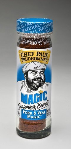 Veal Magic - Chef Paul Prudhomme's Magic Seasoning Blends ~ Pork & Veal Magic, 2-Ounce Bottle