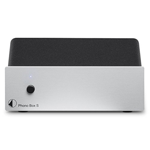 Pro-Ject Phono Box S Phonograph PreAmplifier, Silver by Pro-Ject (Image #1)