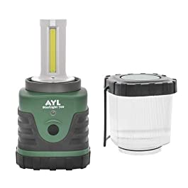 AYL Starlight 700 – Water Resistant – Shock Proof – Long Lasting Up to 6 Days Straight – 1300 Lumens Ultra Bright LED Lantern – Perfect Lantern for Hiking, Camping, Emergencies, Hurricanes, Outages