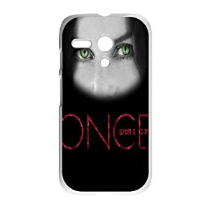 Motorola Moto G Phone Case White Once upon a time AFVT574013