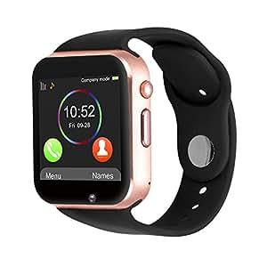 Amazon.com: Padgene New GSM Bluetooth Smart Watch with ...