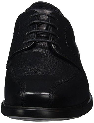 Lloyd Newport, Zapatos de Cordones Derby para Hombre Negro - Schwarz (SCHWARZ 0)