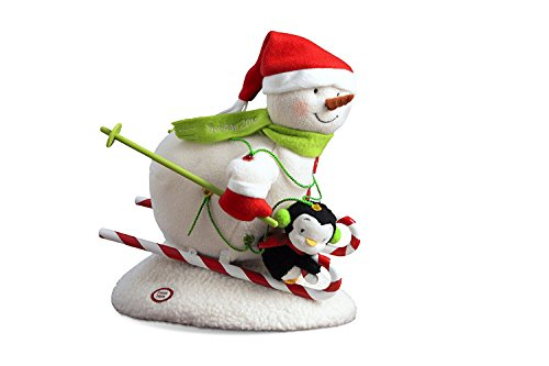 (1LPR2338 Swooshin' Duo 2012 Techno Plush by Hallmark Features Light, Sound & Motion)