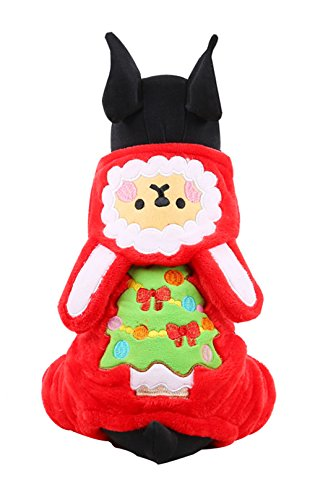Uniquorn Christmas Dress Up Snow Spirit Clothing Dog Clothes Autumn Winter New Pet Clothing Christmas Casual Clothes (Halloween Spirits Locations)