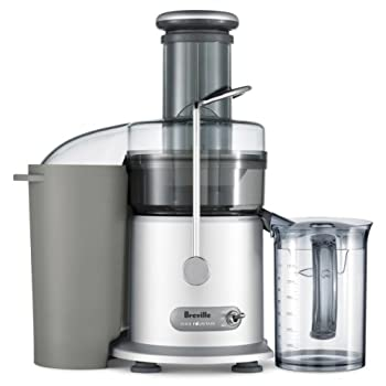 Image of Home and Kitchen Breville RM-JE98XL Juice Fountain Plus 850-Watt Juice Extractor (Renewed)