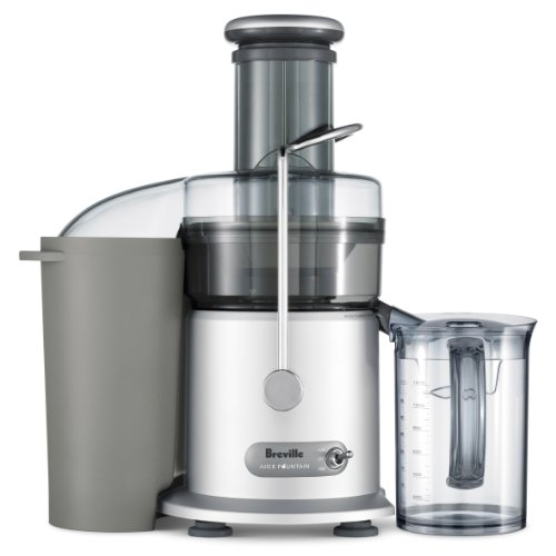 Breville RM-JE98XL Juice Fountain Plus 850-Watt Juice Extractor (Certified Refurbished) (Removable Mesh Steel Top)