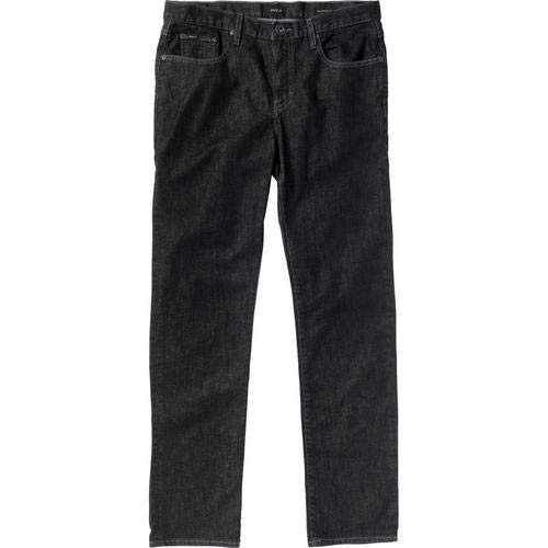 - RVCA Men's Daggers Stretch Denim Jean, Heritage Black 38