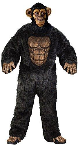 Adult-Costume Comical Chimp Adult Halloween Costume - Most Adults (Chimp Costume)