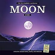 The 2021 Old Farmer's Almanac Moon Cale
