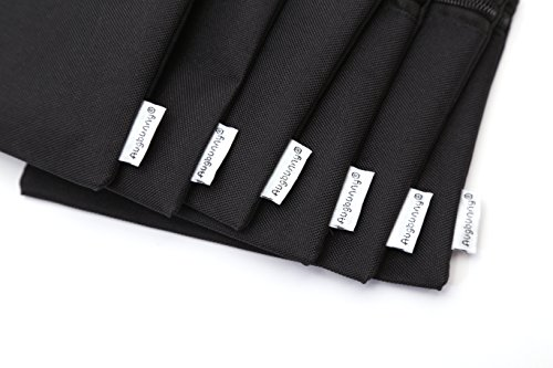 3625dbdaebdd Augbunny 600D Zipper Multi-purpose Waterproof School Office Home Supply  Organizers Pouch Tool Bag 6-pack