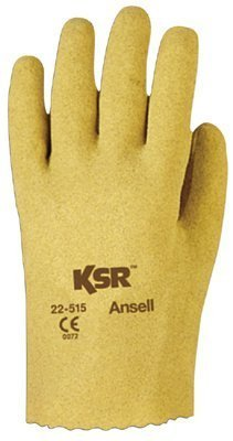Ansell 012-22-515-10 Ksr Knit-Lined Vinyl-Coated Gloves - Size 10, Ksr Vinyl-Coated Knit-Lined Gloves - Size 10 by Ansell by Ansell