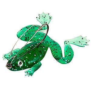 JMNyxgs Topwater Weedless Frog Lure