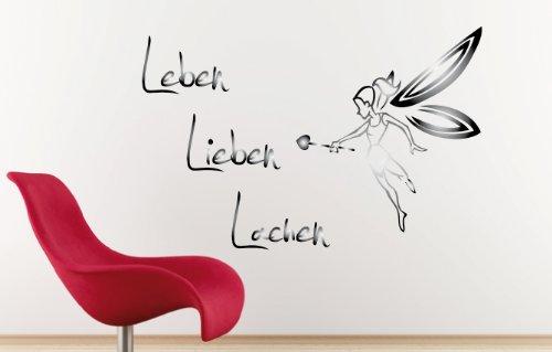 Dd Dotzler Design V4 Leben Lieben Lachen Mit Fee 49 X 32 Cm