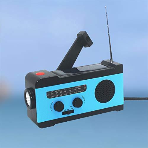 VOSAREA Portable Radio FM Receiver Emergency Radio with Alarm Clock FM Radio FM Receiver by VOSAREA (Image #4)