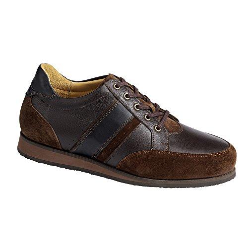 braun Piedro Durchgängies Größe Plateau Mens Shoes EU Sandalen Keilabsatz Piedro braun 45 Herren mit 5 3560 Sports 4WFd7nFqwU