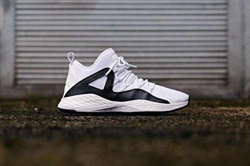 NIKE Men's Air Jordan Formula 23 White/White-Black 881465-100 Shoe 8 M US Men