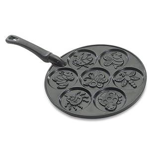Amazon Com Nordic Ware Bug Pancake Pan Muffin Pans
