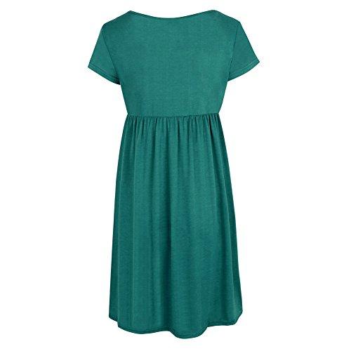 Vimans Ad Vestito Donna A Green Linea raaEx8