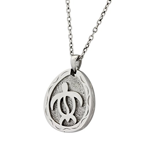 (Hawaiian Jewelry by Austaras - Honu Sea Turtle Pendant - Good Luck and Protection Everywhere You Go)