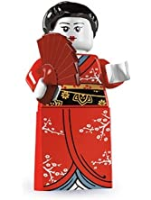 LEGO Series 4 Collectible Minifigure Japanese Kimono Girl