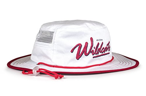 NCAA Arizona Wildcats Adult The Boonie, One Size, White