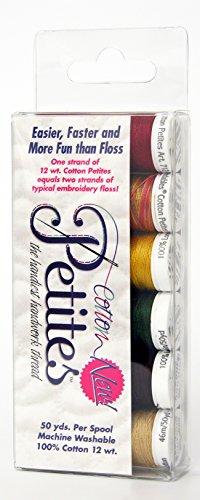 - Sulky Sampler 12wt Cotton Petites, Autumn Assortment, 6-Pack