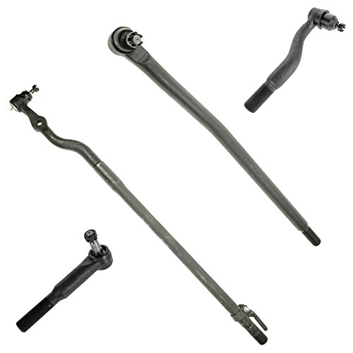 4 Piece Kit Inner Outer Tie Rod End LH RH Set for Ford F250 Super Duty Truck F350 Super Duty Truck Excursion