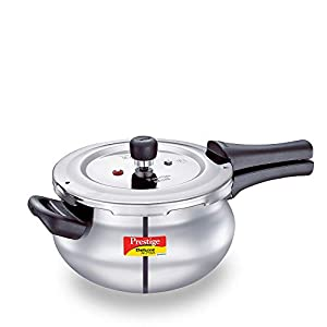 Prestige Svachh, 20268, 4 L, Alpha Junior handi, with deep lid for Spillage Control