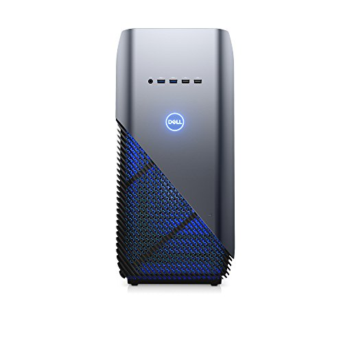 Dell i5675-7806BLU-PUS Inspiron Gaming PC Desktop 5680, Intel Core i7-8700, 8GB DDR4 Memory, 128GB SSD+1TB SATA HDD, NVIDIA GeForce GTX...