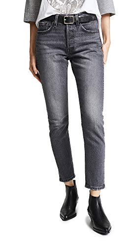 (Levi's Women's 501 Stretch Skinny Jeans, Coal Black,)