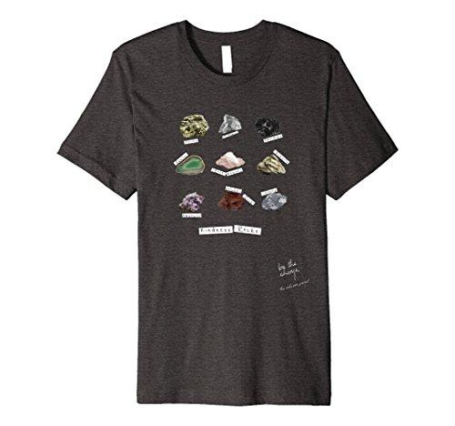 Science Rocks T-shirt - Mens Kindness Rocks Collector Geology Science T-Shirt Small Dark Heather
