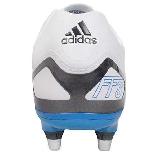 adidas FF80 Pro XTRX II de Rugby SG Boot - Blanc / Bleu