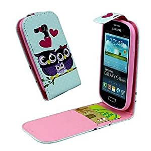 HJZ Samsung S3 Mini I8190N compatible Graphic/Special Design PU Leather Full Body Cases