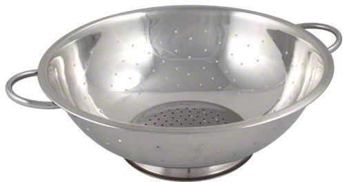 Browne 5 qt Stainless Steel Footed Colander