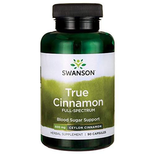Swanson Full Spectrum True Cinnamon Capsules