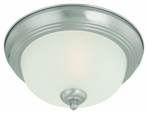 Thomas Lighting SL878178 Ceiling Essentials Ceiling Light, Brushed Nickel