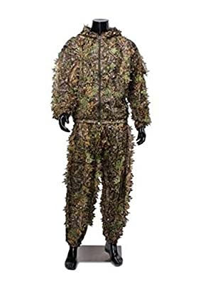 Albertu Hunting Camouflage Apparel Leafy Clothing Woodland Ghillie Suit