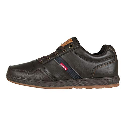 Lennox Levis Dark 228013 Sneaker Beige Millstone Hombre Brown AqfwBqO