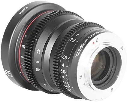 Meke 65 Mm T2 2 Große Blende Manueller Fokus Geringe Kamera