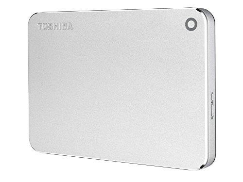 Toshiba Canvio Premium 2TB Portable External Hard Drive USB 3.0, Silver (HDTW220XS3AA) by Toshiba (Image #2)
