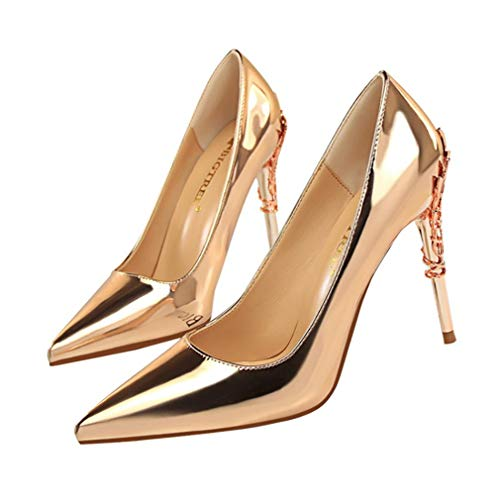 Donna oro B cm punta Vaneel 10 da Scarpe scarpe a Vadxpt a punta con punta HwqdRO