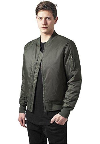 Uomo Basic Olive Giacca Jacket Classics Bomber Urban 07pwq