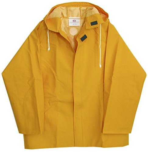 Boss 3PR0500YXXL Heavy Duty 50mm Lined Rain Jacket Yellow XX-Large ...