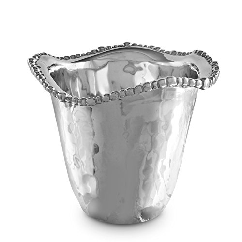 Beatriz Ball Organic Pearl Orlando Ice Bucket-Vase, Metallic by Beatriz Ball
