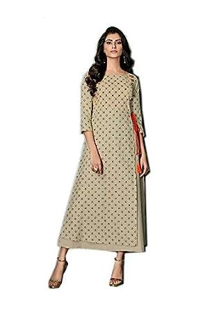 9787973d9 kurti for women latest design party wear long Women Party Wear Rayon  Printed long kurti Women Latest Designer Wear kurta