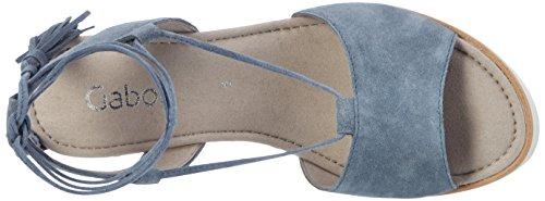 Piattaforma Di Moda Femminile Gabor, Blu Blu (jeans 16)