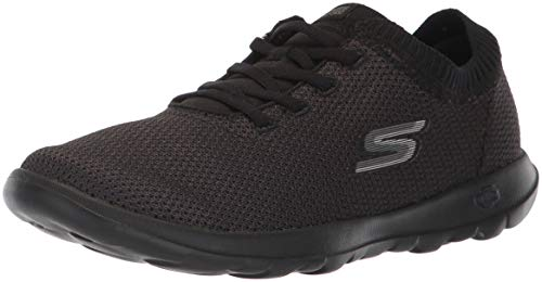Skechers Performance Women's Go Walk Lite - Daffodil Sneaker,black,11 M US