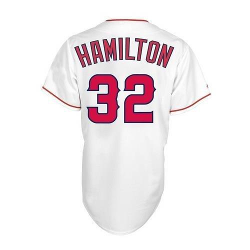 MLB Los Angeles Angels Boy's Josh Hamilton 32 Replica Jersey, Medium